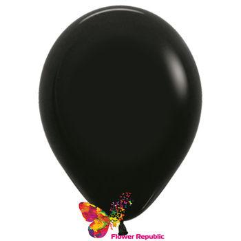 купить Латексный воздушный шар Черный -30 см в Кишинёве