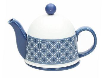 Чайник заварочный 0.45l Tognana Dorothy Blue, в термочехле