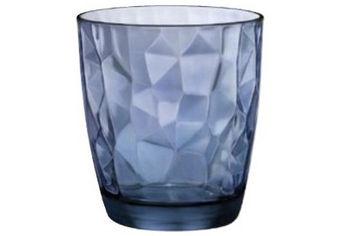 Стакан для виски Diamond 390ml, голубой