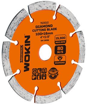 купить Диск алмазный сегментный 230*22.2MM (Prof) Wokin в Кишинёве