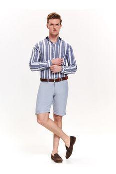 Рубашка TOP SECRET Белый в полоску skl2902