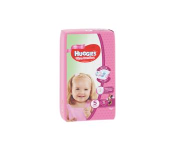 купить Подгузники для девочек Huggies Ultra Comfort Small 5 (12-22 kg), 15 шт. в Кишинёве