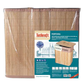 купить Tatkraft FORTUNA корзина для белья 60 литров 11380 в Кишинёве