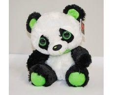 Панда с блестящими глазами, 33 см, код 42065