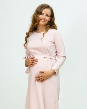 купить Платье осеннее Mirush Maternity розовое в Кишинёве