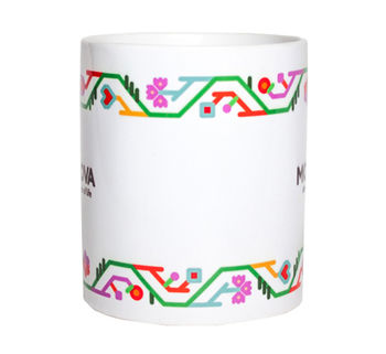купить Кружка белая – Фриз 2 в Кишинёве