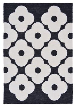 купить Авторские ковры ручной работы ORLA KIELY OUTDOOR spot flower black 460805 в Кишинёве