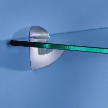 купить Полка стандартная Glassline 800x200x8 мм, матовое стекло в Кишинёве