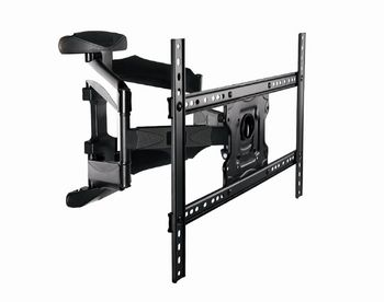 "TV-Wall Mount for 32-70""- Gembird ""WM-70RT-01"", Rotation-Tilt, max. 40kg, Tilt -5°/+8°, Distance TV to Wall: 50 - 490 mm, max. VESA 600 x 400, Black"