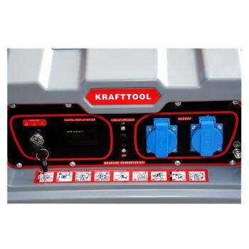 купить Бензиновый генератор 5.5KW KraftTool KTG6500N в Кишинёве