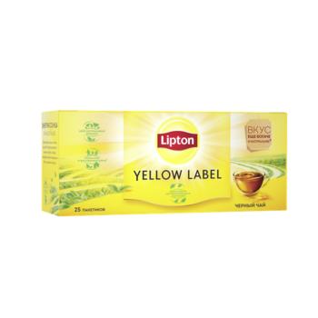 купить Lipton Yellow Label, 25 пак. в Кишинёве