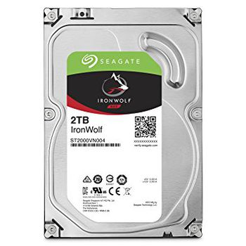 "3.5"" HDD 2.0TB  Seagate ST2000VN004  IronWolf™ NAS, 5900rpm, 64MB, SATAIII"