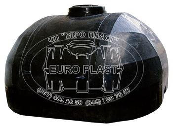 купить Емкость 5000 л  гориз.ов. УСИЛЕН. (черный.)+ штуцер (для транспортировки жидкостей) в Кишинёве