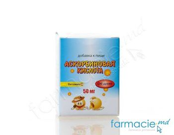 купить Acid ascorbic 0.05g draje N200 (Depo) (TVA20%) в Кишинёве