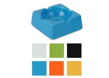 Пепельница керамическая, разных цветов
