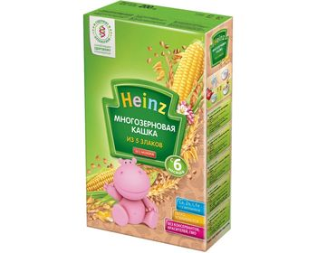 купить Heinz каша многозерновая безмолочная 5 злаков, 6+мес. 200г в Кишинёве