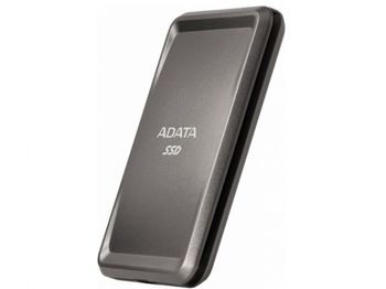 Портативный твердотельный накопитель ADATA «SC685P», 500 ГБ (USB3.2 / Type-C), серый титан (86x56x9 мм, 30 г, R / W: 530/460 МБ / с)