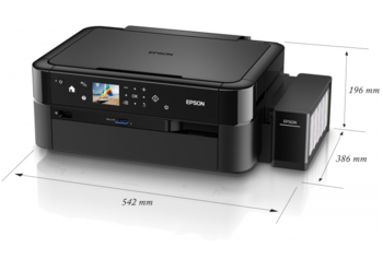 купить Epson L850 Copier/Printer/Scanner, A4, Print resolution: 5760x1440 DPI, Scan resolution: 1200x2400 DPI, Memory Stick Duo/Pro/Pro Duo, Wi-Fi/USB 2.0 Interface в Кишинёве