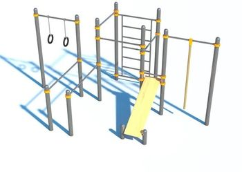 Спортивный комплекс WORKOUT С-051