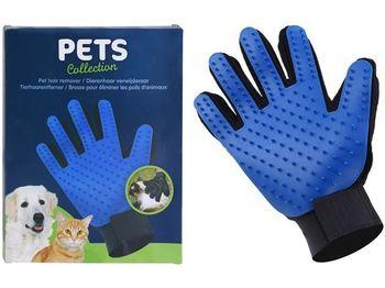 Перчатка для вычесывания домашних животных 23cm Pets