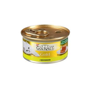 купить Gourmet Gold паштет с кроликом 85 gr в Кишинёве