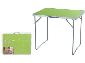 Стол раскладной 80X60X4.5cm, зеленый, чемодан
