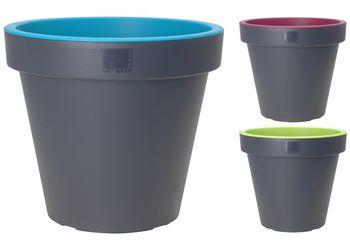 Горшок для цветов пластиковый D40cm, H35cm