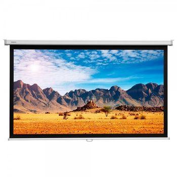 "Elite Screens 150""(4:3) 228,6x304,8cm Manual Pull Down Screen, White"