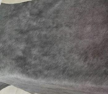 купить Ковер из натуральной кожи COW DIED DARK GREY, темно-серый в Кишинёве
