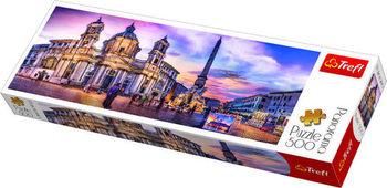 "Пазлы ""500 Panorama"" - ""Piazza Navona, Rome"", код 41648"