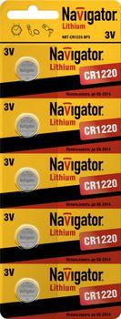 купить батарейка-элементы питания NBT-CR1220-BP5 в Кишинёве