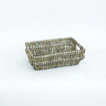 купить Прямоугольная корзина из ивы 310x210x100 мм в Кишинёве