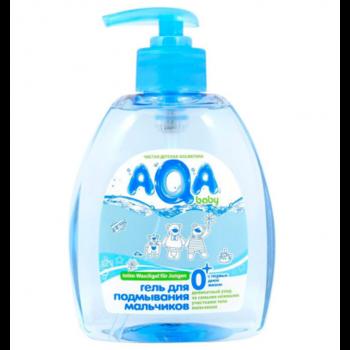 купить AQA baby гель для подмывания мальчиков 300 мл в Кишинёве