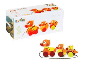 купить Cubika Деревянная игрушка каталка в Кишинёве