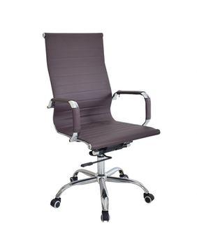 Офисное кресло 501 бордовое