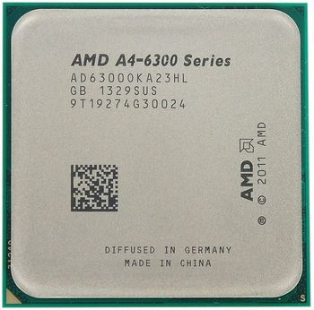 "cumpără ""APU AMD A4-6300 (3.7-3.9GHz, L2 1MB, 65W,32nm,Radeon HD 8370D),Socket FM2,Tray AMD A4-6300 APU with Radeon™ HD 8370D, DirectX 11, 760 MHz and has 128 Radeon cores"" în Chișinău"