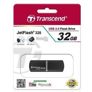 купить Flash Drive Transcend JetFlash 320 Black 32Gb в Кишинёве