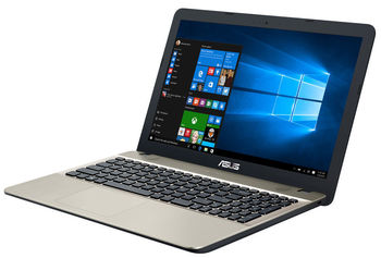 "cumpără ""NB ASUS 15.6"""" X540NA Black (Celeron N3350 4Gb 500Gb) 15.6"""" HD (1366x768) Non-glare, Intel Celeron N3350 (2x Core, 1.1GHz - 2.4GHz, 2Mb), 4Gb (Onboard) PC3-12800, 500Gb 5400rpm, Intel HD Graphics, HDMI, No ODD, 802.11n, Bluetooth, 1x USB 3.0, 2x USB 2.0, Card Reader, Webcam, Endless OS, 3-cell 33 WHrs Li-Ion Battery, 2.0kg, Chocolate Black"" în Chișinău"