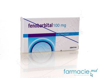 купить Fenobarbital comp. 100 mg N25~ в Кишинёве