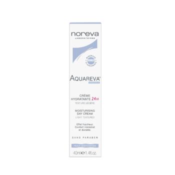 cumpără Noreva AQUAREVA Cremă hidratantă 24h textură fluida 40 ml (ten normal, combinat) în Chișinău