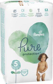 купить Подгузники Pampers Pure Protection 5 (11+ kg) 17 шт в Кишинёве