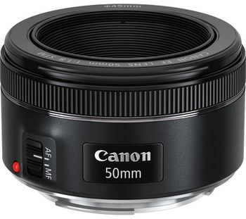 Prime Lens Canon Canon EF 50 mm  f/1.8 STM