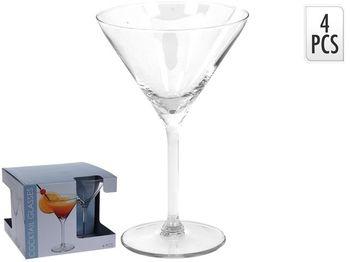 Набор бокалов для мартини Vinissimo 4шт, 260ml