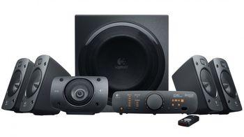 Logitech Z906 Speaker System 5.1 (RMS 500W, 165W subwoofer, 5x67W), Black