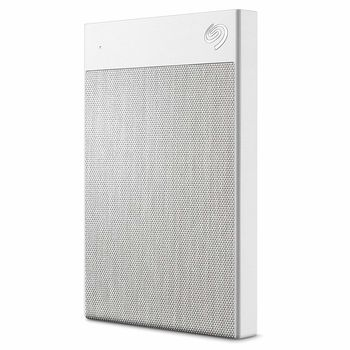 """2.5"""" External HDD 2.0TB (USB3.0/USB-C)  Seagate """"Backup Plus Ultra Touch"""", Silver, Hardware Encryption,  Durable design, Refined and understated, Cozy and textured."""