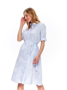 Платье TOP SECRET Синий в полоску ssu2851