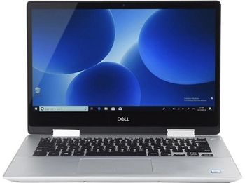 "DELL Inspiron 14 5000 Gray (5482) 2-in-1 Tablet PC, 14.0"" IPS TOUCH FullHD (Intel® Core™ i7-8565U 1.80-4.60GHz, 8GB DDR4 RAM, 256GB SSD,NVIDIA MX130 2GB GDDR5 Vram,CardReader, WiFi-AC/BT4.0, 3cell, 720p HD Webcam, Backlit KB, FP,RUS, W10HE64,1.75 kg)"