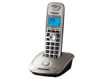 Dect Panasonic KX-TG2511UAN, Platinum, AOH, Caller ID, LCD, Sp-phone (telefon fara fir DECT/ DECT телефон)
