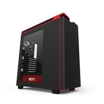 cumpără Case NZXT H440 Matte Black+Red w/o PSU în Chișinău