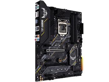 Placa de baza ASUS TUF GAMING B460-PLUS Intel B460, LGA1200, Dual DDR4 2933MHz, PCI-E 3.0/2.0 x16,DP 1.4/HDMI 1.4b, AMD 2-Way CrossFireX, USB3.2, SATA RAID 6Gb/s, 2 x M.2 x4 Socket, Intel Optane memory ready, SB 8-Ch., GigabitLAN, Aura Sync